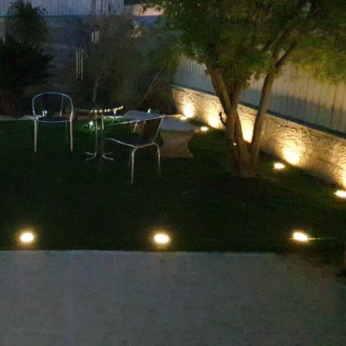 4 LED solární lampy photo review