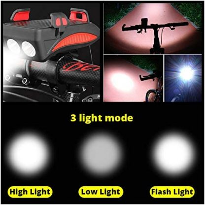 Luč za kolo (4 v 1)
